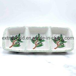 La Uva vajillas de cerámica artesanal Mini condimentos frutas plato plato múltiple
