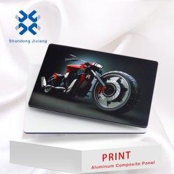 PE 코팅 PVDF 코팅 UV 인쇄 표면 외부 표지판 광고 패널 인쇄 패널 전시장 버스 - 지하철 알루미늄 복합 패널 정지