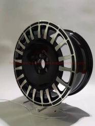 عجلات السيارة قياس 17/18/19/20 بوصة محور عجلات السيارات شعار مخصص مناسب لـ سلسلة عجلات السيارة المصنوعة من الألومنيوم الداكن للسيارة