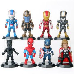 슈퍼 영웅 액션 인형 장난감 Thor 남자 PVC 액션 인형 수집은 차 훈장을%s 장난감 숫자를 만든다