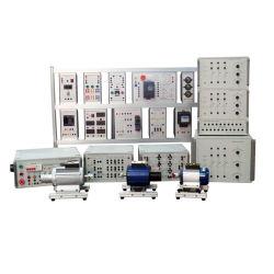 Transmisión y Distribución de energía eléctrica del sistema experimento Workbench la docencia universitaria Material didáctico