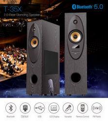 2.0 домашний кинотеатр Bluetooth динамик телевизора напольных АС динамик караоке