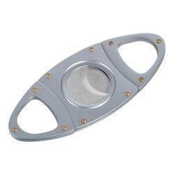 스테인리스 가위 심천 Laser 로고 절단은 OEM 완벽한 선전용 V 커트 여송연 절단기를 가위로 자른다