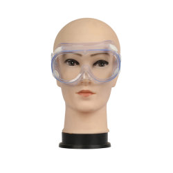 Gafas de seguridad a prueba de salpicaduras de polvo Gafas Anti niebla Protección contra la arena Ojos Cuidado personal Protección ocular Antifog Lab Química Industrial médica Lente Llab PPE