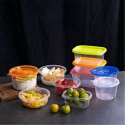 PP PS 애완동물 플라스틱 블리스터 과일 야채 상자, 투명한 식사 상자 테이크어웨이 포장 패스트푸드박스