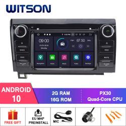 Witson Android 10 автомобильный радиоприемник проигрыватель Bluetooth для Toyota тундре (2007-2013) Секвойя (2008-2015) через аудиосистему автомобиля мультимедийной системы GPS