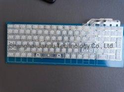 실리콘 접이식 USB 유선 키보드 유연한 실리콘 항균 키보드