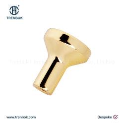 Polidos Golden grossista clássico roupeiro e puxe o botão Gancho plana de porta