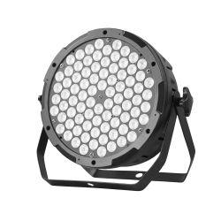 Het LEIDENE van de Apparatuur van DJ PARI steekt LEIDENE van het LEIDENE Vlakke Stadium van het PARI 84*3W RGB 3in1 Lichten aan