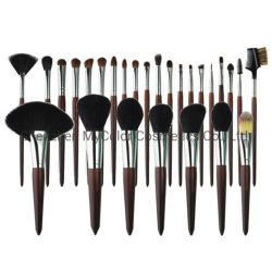 Etiqueta Privada Professional 26PCS conjunto de escovas de maquiagem Escova Artista Olho Pó sombra com saco de maquilhagem