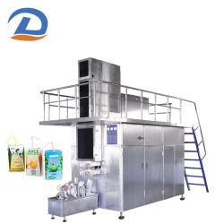 125mlミルクの全ライン自動カートンボックス無菌詰物のシーリング機械