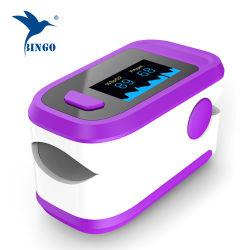 Video di frequenza cardiaca di saturazione dell'ossigeno di anima dell'ossimetro di impulso con l'allarme audiovisivo
