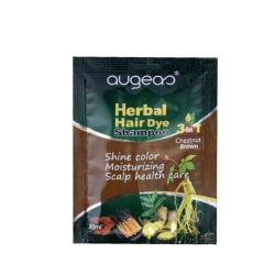 30ml La couleur marron à base de plantes naturelles shampoing pour coloration capillaire permanente