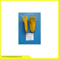 Piezas de alta calidad para la excavadora de la cuchara/Dientes dientes directa de fábrica de piezas de repuesto