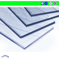 Небьющийся Твердый поликарбонатный лист для Carport / ПК в мастерской / пластины из поликарбоната для кровельных/ из поликарбоната для скрытых полостей Skylight УФ бумага с покрытием