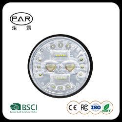 自動車 LED レンズの霧灯網の名声の小さい鋼鉄銃 フロントバーネットスポットライトイエローとホワイトダブルライト LED 作業灯