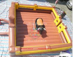 Heißes Verkaufs-mechanisches Bull-Maschinen-Geräten-aufblasbares Fußball-Rodeo Bull