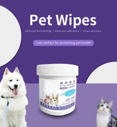 ペットケア、マイルドフォーミュラ、刺激なしのペットアイ′ S ワイプとノーズワイプスペシャル。 抗細菌、アンチウイルスは、ペットを健康に保つために使用します
