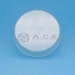 Venda por grosso de pó compacto estojo de plástico cosméticos personalizados
