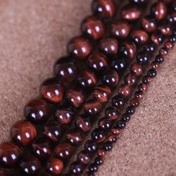 النمر الأحمر الطبيعي العين حجر النحل لمجوهرات الأزياء صنع