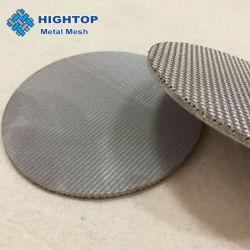 Металлокерамические 100-микронный сетчатый фильтр диск для фильтрации