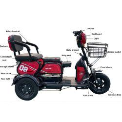 المصنع مباشرة 3 ركاب دراجات نارية للتنقل كبار السن حجم صغير سكوتر سيتيكوكو 3 عجلات سكوتر كهربائية