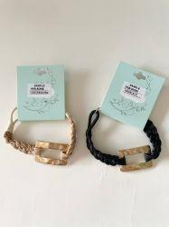 La mode en Métal Décoration de corde Bracelet Chain tissés Accessoires