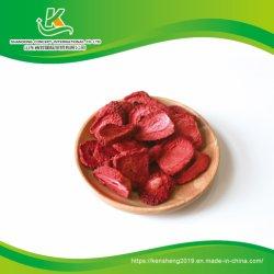 Congelamento Natural chinês Flocos de morango secas