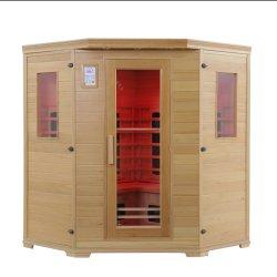 Cer-anerkannter Schierling-volles Spektrum-Sauna-Haus für 4 Leute