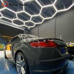 Abnehmer kann DIY Lampen-hängendes Büro AluminiumluxuxHexagrid LED heller Stab für Büro-Auto-Ausstellungsraum