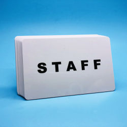실크스크린 오프셋에 의하여 인쇄되는 플라스틱 수동태 RFID UHF 접근 카드