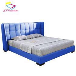 Европейский дизайн Air кожаные деревянные кровати куин модели односпальной кроватью