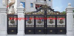 Doppelte Größen-Aluminiumkunst-Hof-Tür (W-CY-02)