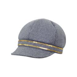 중국 공장 주문 도매 좋은 품질 펠트 뉴스 보이 IVY 캡 모자