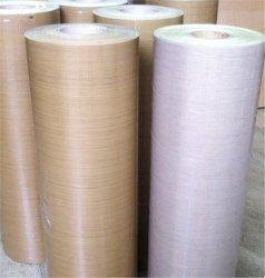 プレーンな Woven PTFE ガラス繊維布