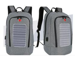 Geschsaftsreise-Doppeltes gurtet im Freien Panel-Solaraufladeeinheits-Beutel-wasserdichte Schule-reisenden Solarrucksack-Beutel