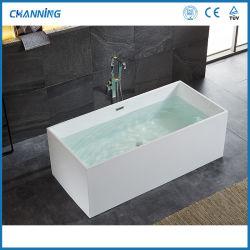 Channing душ в ванной комнате самостоятельных ванной белый лучшие горячие ванны акриловые отдельно стоящие ванны глубокая ванна (QT-031)