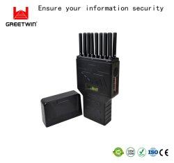 Multi-Band 16 antenas WiFi GPS portátiles 3G 4G GSM teléfono móvil 5.2G para coche Bluetooth RF REMOTE Lojack rompedor de la señal de teléfono móvil 5G para American Jammer
