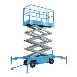 Qiyun 4m 6m 8m 10m 12m 14m 16m 500kg hidráulico Ascensor de tijeras móviles portátil utilizado para el mantenimiento y la limpieza de Equipo de Alto Altitud a la venta