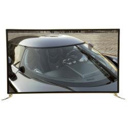 Deluxe et de protection en verre et téléviseur intelligent 42 pouces 4K UHD téléviseur LED LCD TV peut jouer Youtube et Netflix,TV 42 pouces,TV à écran plat,TV,TV LCD LED,télévision bas prix