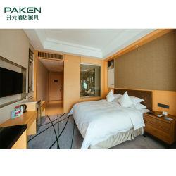 Hotelguestroom-Möbel-einfacher Entwurfs-Gepäck-Zahnstangen-u. Studien-Tisch-Set