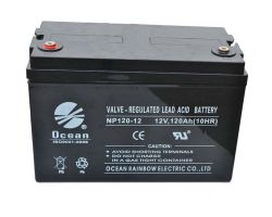 prix d'usine 12V 120Ah plomb-acide rechargeable Batterie UPS