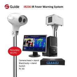 Sistema automatizzato della macchina fotografica della selezione di febbre della guida IR236 IR con 0.3º C e funzione di Automatico-Avvertimento per selezione su grande scala