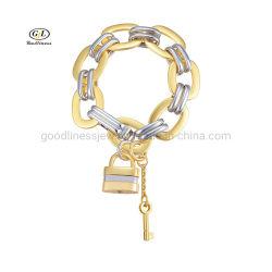 نحاس كوبا Bracelet شخصية مبالغ فيها اتجاه المجوهرات قفل قلادة سوار مستدير الشكل