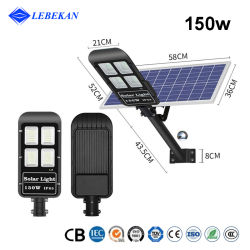 [ليبوكان] موزع سعر [لومينريس] [سولرس] [100و] [150و] 300واط خارجيّة حديقة مصابيح LED للطاقة الشمسية تضيء مصابيح Iluminacion