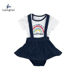 Одежда для детей одежда для девочек одежда для девочек одежда для детей одежда для одежды Распечатано Футболка и детская одежда юбка Детские одежды