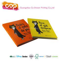 Het in het groot Aangepaste Boek van het Verhaal van het Beeld van /Childrens van het Jonge geitje van de Dekking van Af:drukken Harde