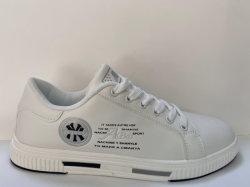 カップルのサイズの人の靴のMicrofiberのスケートボードのスポーツの靴