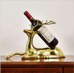 Golden Deer bac de vin pour la Maison et décoration de table