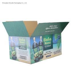 Commerce de gros Hot Sale carton lourd bouteilles de vin à l'emballage carton boîte cadeau pour l'expédition Paper Box